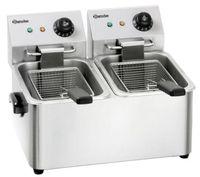Friteuse électrique SNACK II, 2x4 litres