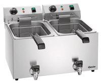 Friteuse électrique Bartscher SNACK IV Plus 2 x 9L