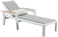 Chaise longue Champion en fibres de polyoléfine