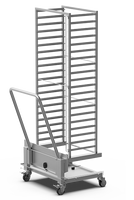 Chariot de transport de grilles de four mobiles UNOX 20xGN 1/1