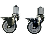 GGG-Rollenpaar für PROFI Arbeitstische & Arbeitsschränke - mit Bremse