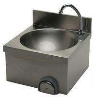 Handwaschbecken mit Aufkantung 400 x 400 x 235 mm
