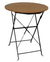 Tisch aus Holzimitat Bolero rund 600 mm