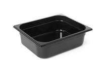 Bac professionnel Gastronorm en polycarbonate noir - GN1/2-200