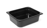 Bac professionnel Gastronorm en polycarbonate noir - GN1/2-65