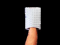 Grauer Lobby Helfer - Handschuh
