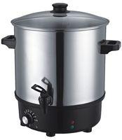 Einkochtopf / Glühweintopf 25 Liter Edelstahl