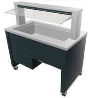 Blanco BASIC LINE UK-3 Smart - Buffet réfrigéré avec réfrigération active par ventilation 3xGN 1/1