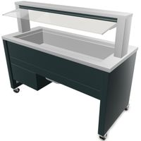 Blanco BASIC LINE UK-4 Smart - Buffet réfrigéré avec réfrigération active par ventilation 4xGN 1/1