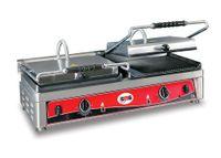 Grill panini électrique GMG 2x36x27 rainuré