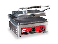 Grill panini électrique GMG 45x27 rainuré
