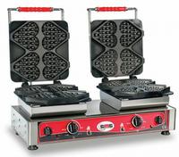 GMG Waffeleisen Ti amo mit 2 festen Backplatte, 230 V mit Timer