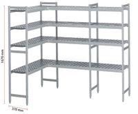 Système d'étagères pour chambres froides ECO Set 067