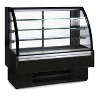Kühlvitrine Profi 160 - rundes Frontglas