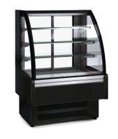 Kühlvitrine Profi 90S für Schokolade - rundes Frontglas