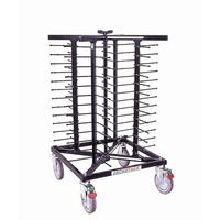 Jackstack Tellerwagen auf Rädern für 52 Teller