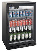 GGG Barkühlschrank ECO 138 Liter schwarz