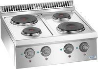 Cuisinière électrique Dexion Lux 700 - 70/73, appareil à poser