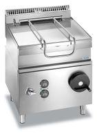 Poêle à frire électrique basculante Dexion Lux 700 - 80/73 60litres, poêle en acier inoxydable