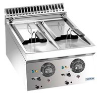 Elektrofritteuse Dexion Lux 700 - 40/73 - 6+6 Liter Tischgerät