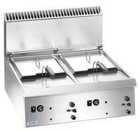 Gas-Fritteuse Dexion Lux 700 - 70/73 9+9 Liter - Tischgerät