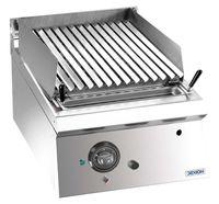 Grill à pierre de lave à gaz Dexion Lux 700 - 40/73 - appareil à poser
