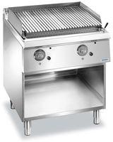 Grill à pierre de lave à gaz Dexion Lux 700 - 80/73