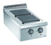 Cuisinière électrique Dexion Lux 980 - 40/90, plaques de cuisson carrées, appareil à poser