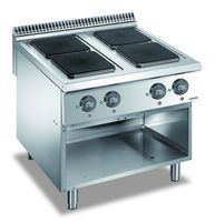 Fourneau électrique - Dexion Lux 980  - 80/90 plaques de cuisson carrées