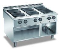 Fourneau électrique Dexion Lux 980 - 120/90 avec plans de cuisson carrés