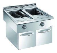 Elektro-Fritteuse Dexion Lux 980 - 80/90 18+18 Liter Tischgerät