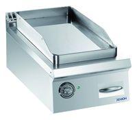 Elektro-Grillplatte Dexion Lux 980 - 40/90 glatt, verchromt Tischgerät