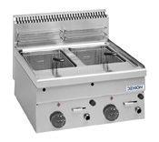 Gas-Fritteuse Dexion Serie 66 - 60/60 8+8 Liter Tischgerät