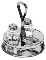 Ménagère 3pièces poivrière/salière/bouteille Maggi