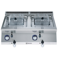 Electrolux Gas-Fritteuse Tischgerät 2 x 7 Ltr. XP700