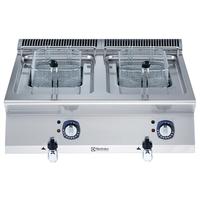 Electrolux Elektro-Fritteuse Tischgerät 2 x 7 Ltr. XP700