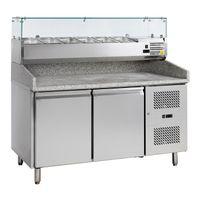 Pizzatisch PT 1200 mit Kühlaufsatz