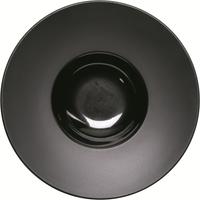Kontrast Teller tief mit breiter Fahne Ø 300 mm, schwarz