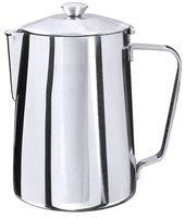 Cafetière, acier inoxydable 18/10, 0,6 l, hauteur 13 cm