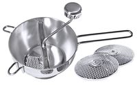 Filtre passe-tout de 20 cm, acier inoxydable, contenance 2 litres