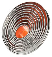 Emporte-pièces, forme ovale et lisse
