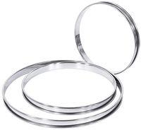 Cercle à gâteau , brillant, diamètre : 32cm, hauteur 2cm