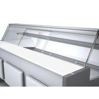 Porte coulissante en plexiglas Profi100, verre frontal carré