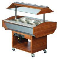 Gastro Buffet HOT, 1190x900x870/1320 mm