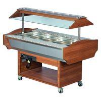 Gastro Buffet HOT, 1520x900x870/1320 mm