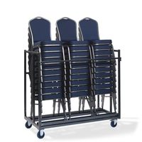 Chariot de transport de chaises empilables pour un maximum de 30 chaises