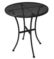Bistrotisch Bolero rund, schwarz, Durchmesser 60 cm