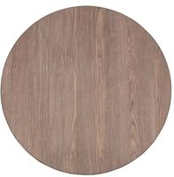 Bolero runde Tischplatte Vintage Holz 60cm