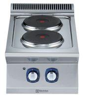 Electrolux Elektroherd 2-Platten Tischherd XP700 - 5,2 kW