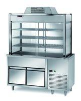 Vitrine réfrigérée de libre-service PROFI avec deux tiroirs 1200x700x2000 – 3x GN 1/1